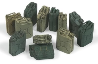 Scenics: German Jerrycan Set