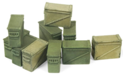 Scenics: Large Ammo Boxes 12.7mm
