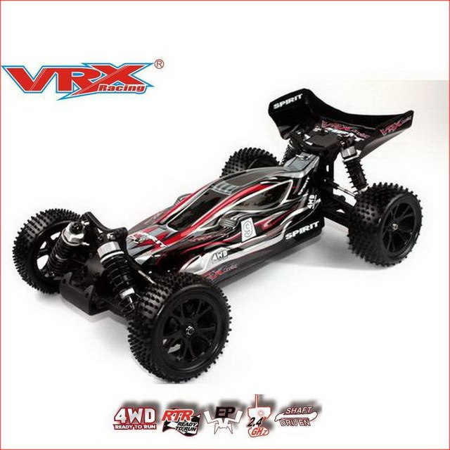 1/10th 4WD Spirit EBL Brushless RTR