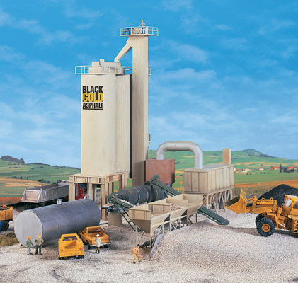 HO Black Gold Asphalt Hot Mix Plant