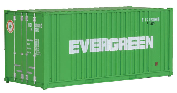 20' Rib Container Evergreen