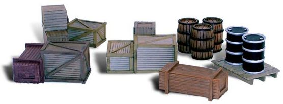 O Assorted Crates