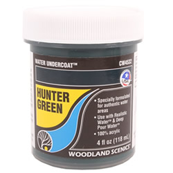 Water Undercoat - Hunter Green