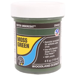 Water Undercoat - Moss Green