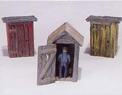 3 Outhouses and man kitset