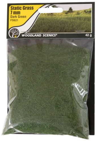 7mm Dark Green Static Grass