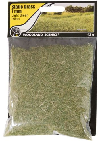 7mm Light Green Static Grass