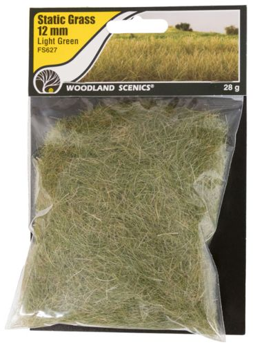 12mm Light Green Static Grass