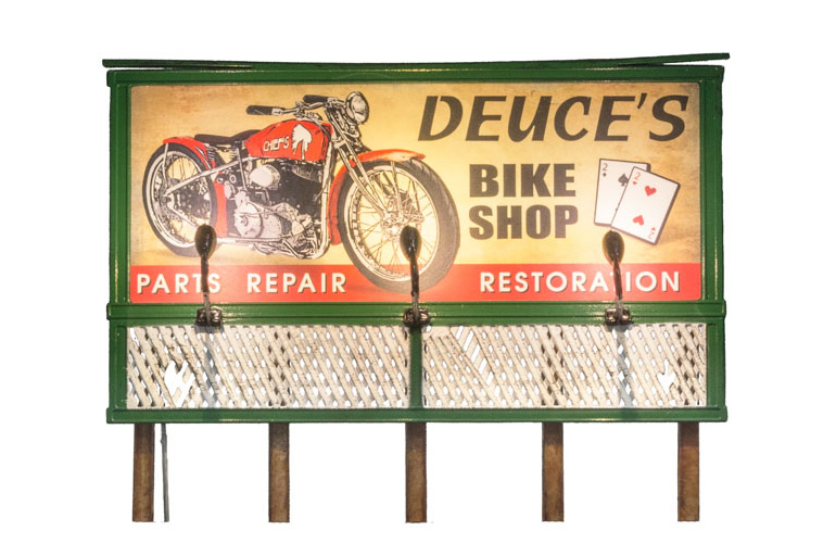 Deuce's Parts & Repair Billboard