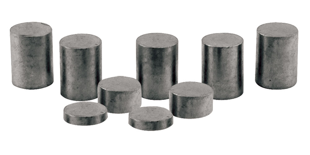 3oz Cylinder weights - Pinecar