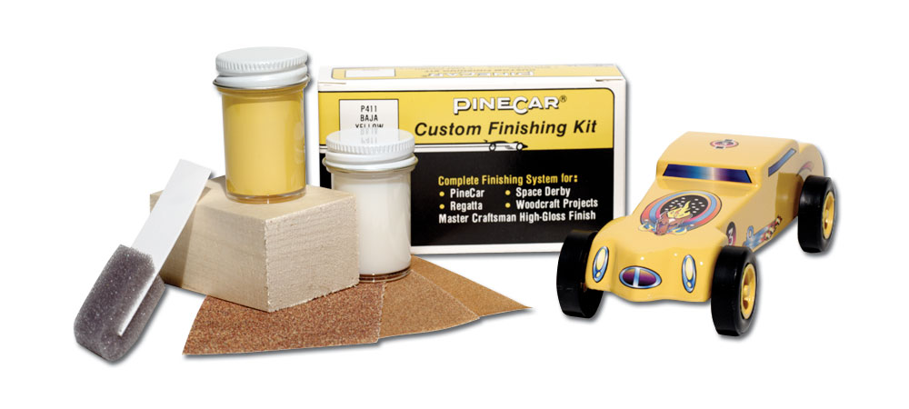 Baja Yellow custom finishing kit