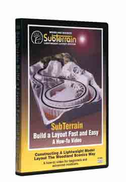 Sub Terrain: Build a Layout DVD
